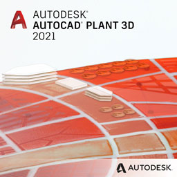 autocad plant 3d 2021 badge 256px opt