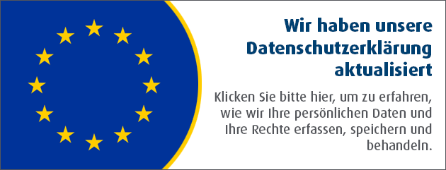Privacy Notice Banner German