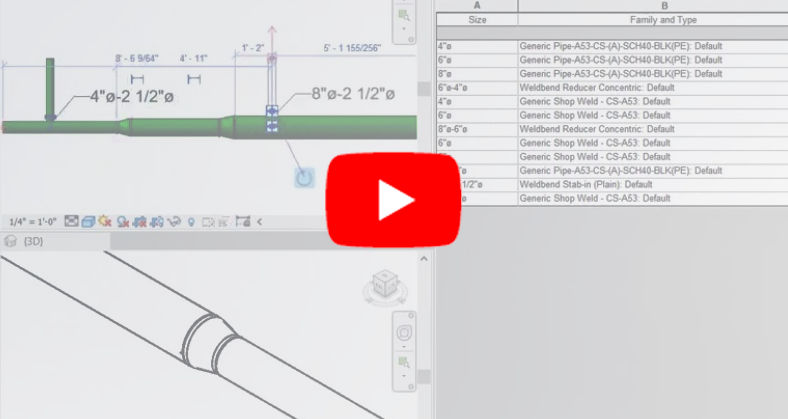 Revit 2019.2: MEP Fabrication Enhancements