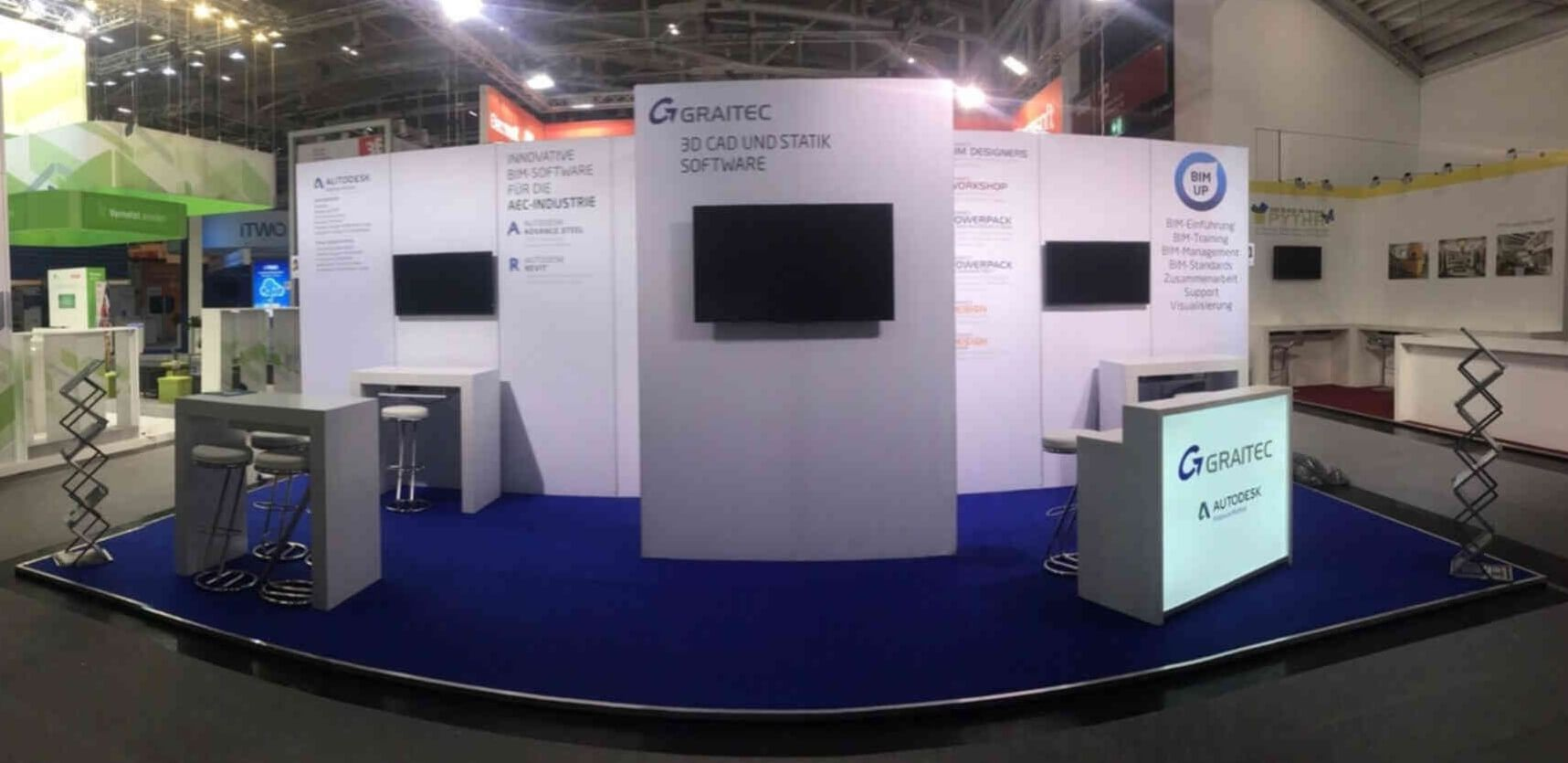 GraitecBoothBAUMesse1