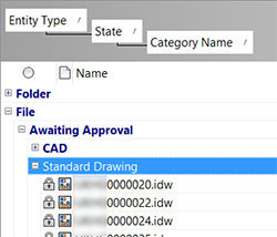 Group Files by Properties in Vault Inventor